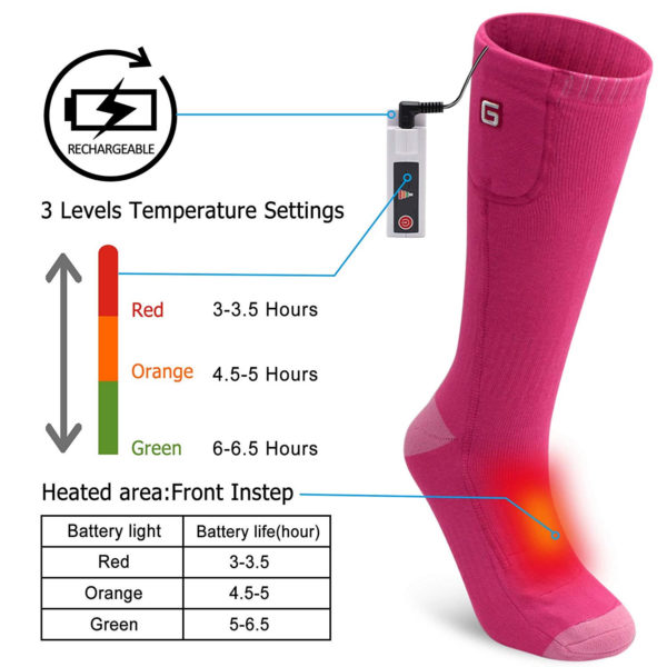 Autocastle rechargeable socks kit - 11