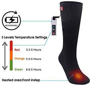 Global Vasion Rechargeable Battery Heated Socks - 03