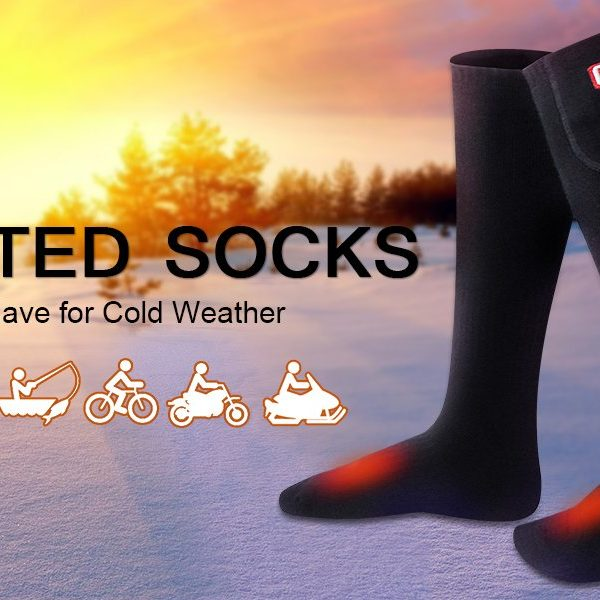 Global Vasion Rechargeable Battery Heated Socks - 04