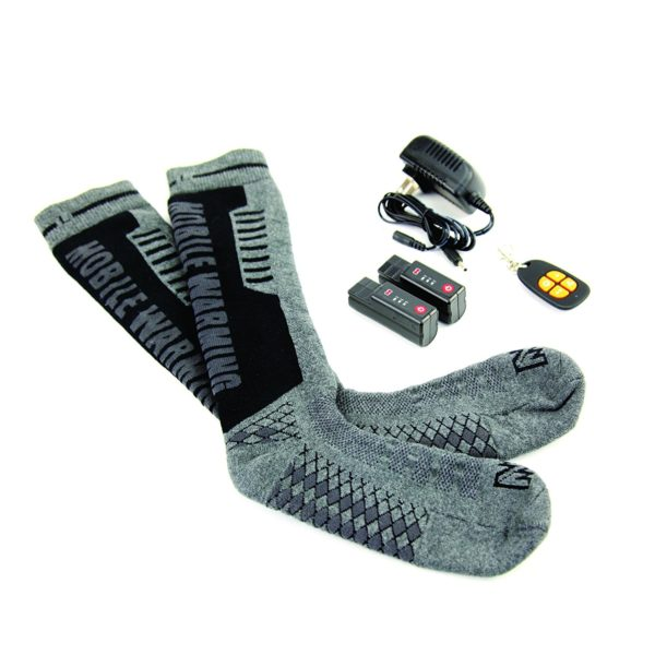 Mobile Warming Heated Electric Socks - 02