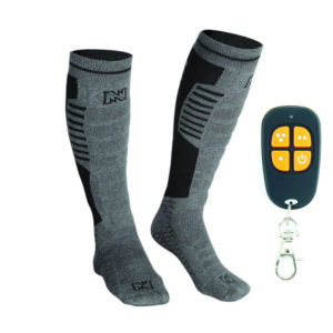 3b857fc93cb Mobile Warming Heated Electric Socks With Remote Control