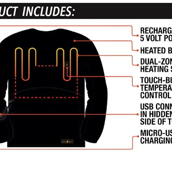 ActionHeat Battery Heated Shirt - 04