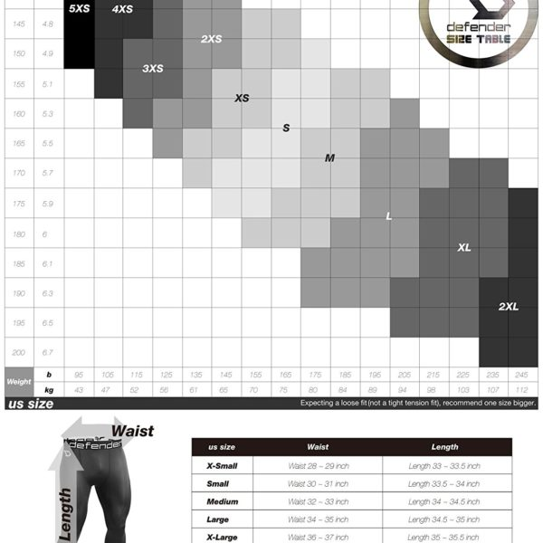 Defender Thermal Compression Tights - 07