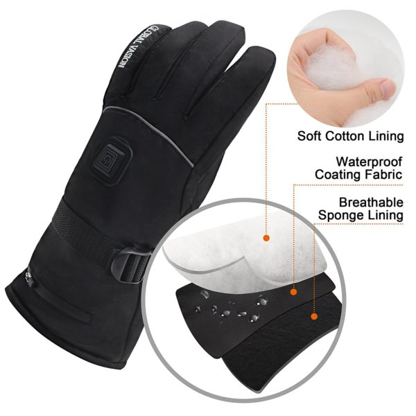 Global Vasion Battery Heated Gloves - 02