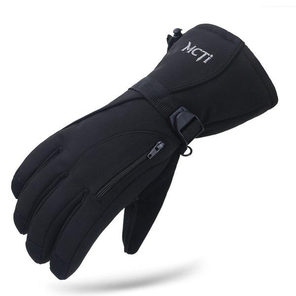 MCTi Winter Thermal Gloves - 10 - black color
