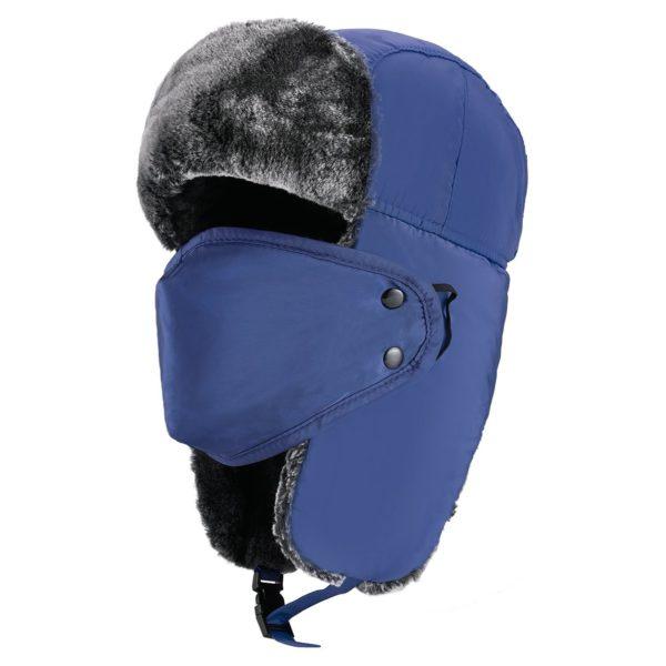 Mysuntown Winter Trooper Hat - 09 - blue color