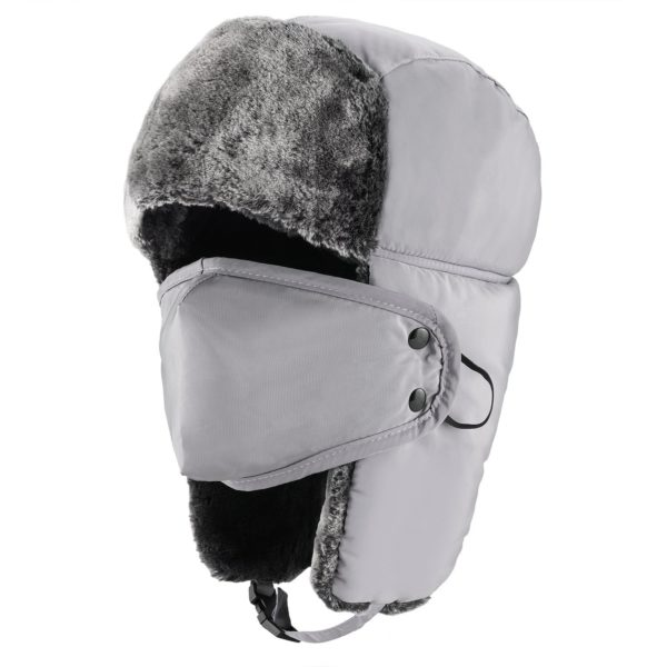 Mysuntown Winter Trooper Hat - 10 - white color