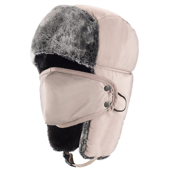 Mysuntown Winter Trooper Hat - 11 - khaki color