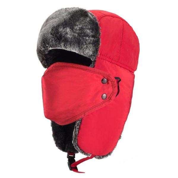 Mysuntown Winter Trooper Hat - 12 - red color