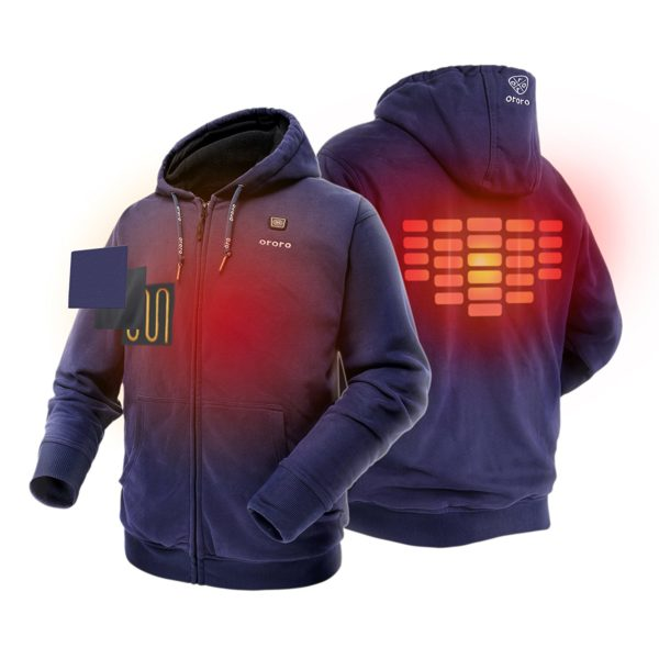Ororo Electric Heated Hoodie - 02