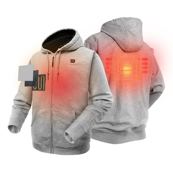 Ororo Electric Heated Hoodie - 09