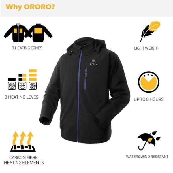 Ororo Heated Jacket - 03