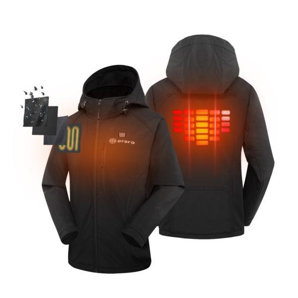 Ororo Women's Heated Jacket - 02