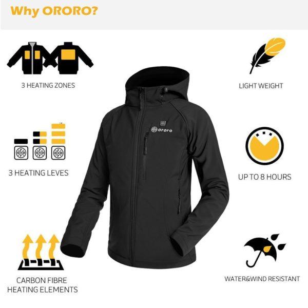 Ororo Women's Heated Jacket - 04