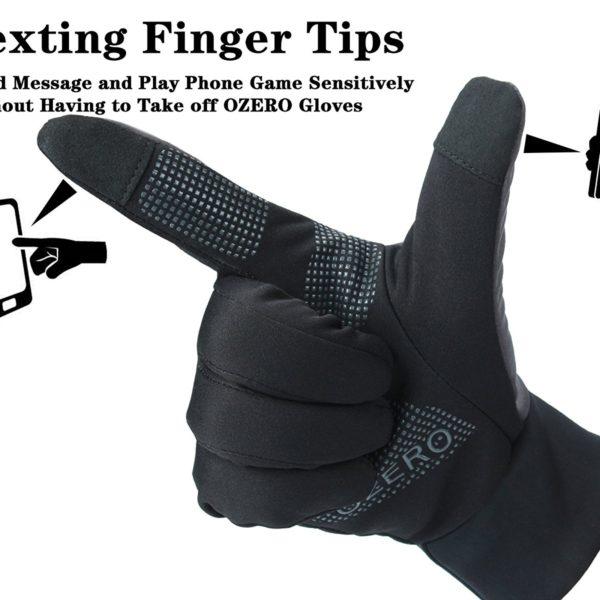 Ozero Touchscreen Thermal Gloves - 03