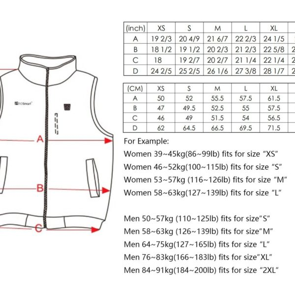 PROsmart Electric Heated Vest - 06