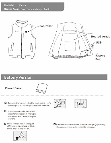 PROsmart Electric Heated Vest - 07