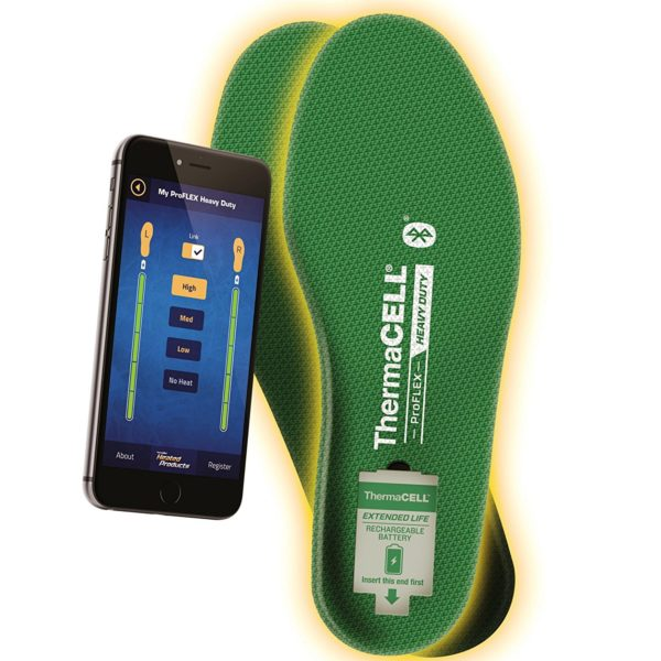 ThermaCELL Proflex Heated Shoe Insoles - 02