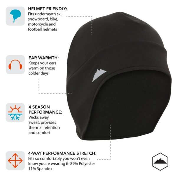 Tough Headwear Thermal Skull Cap - 05