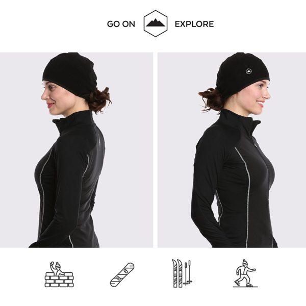 Tough Headwear Thermal Skull Cap - 07