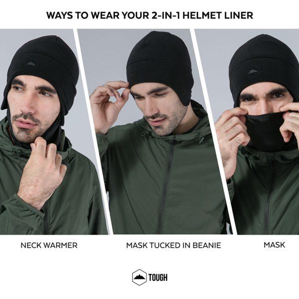 Tough Headwear Thermal Skull Cap - 12