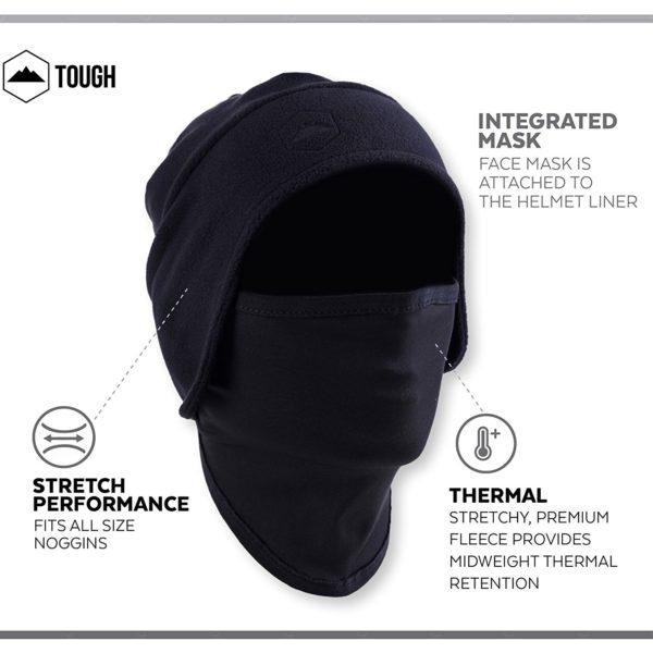 Tough Headwear Thermal Skull Cap - 13