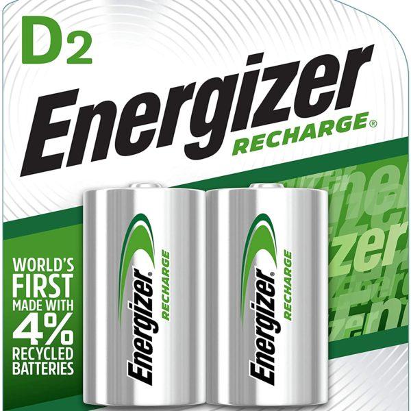 Energizer Rechargeable D Batteries