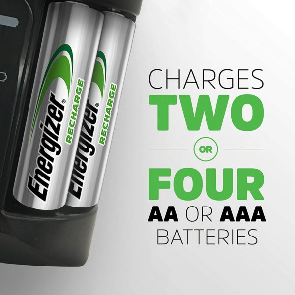 Energize Universal AA & AAA Battery Charger - 2
