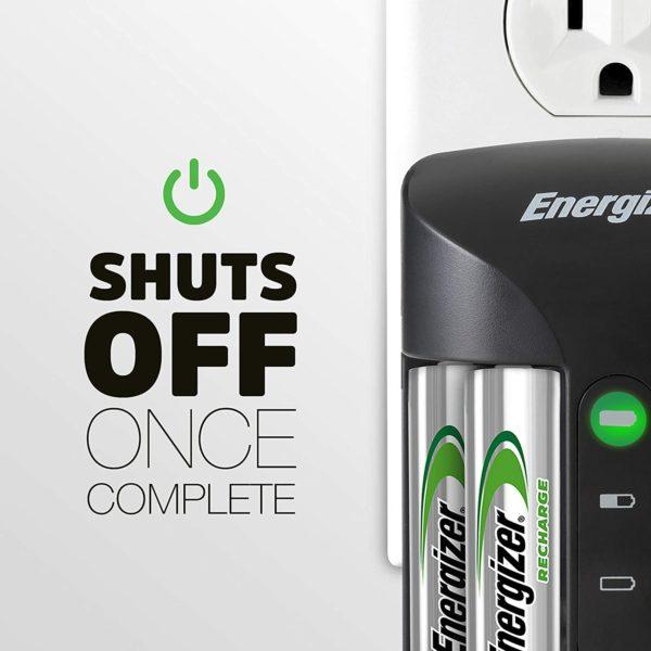 Energize Universal AA & AAA Battery Charger - 6