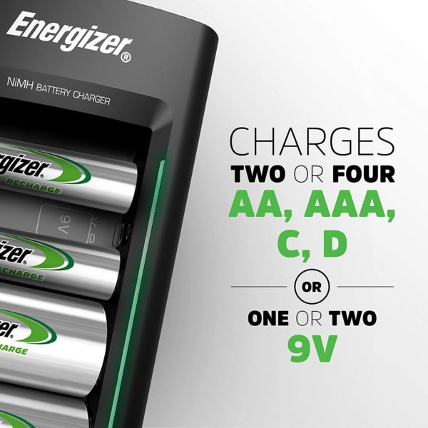 Energizer Universal Battery Charger - 2