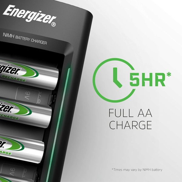 Energizer Universal Battery Charger - 3