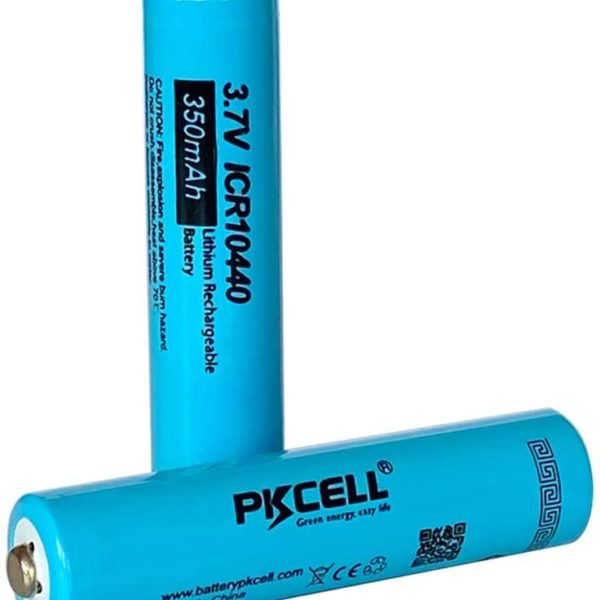 PKCELL 3.7V rechargeable batteries