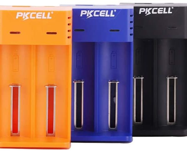 PLCELL 3.7v battery USB charger