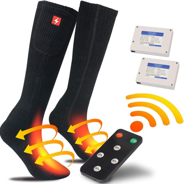 Sticro Rechargeable Electric Socks with Remote Control - 01