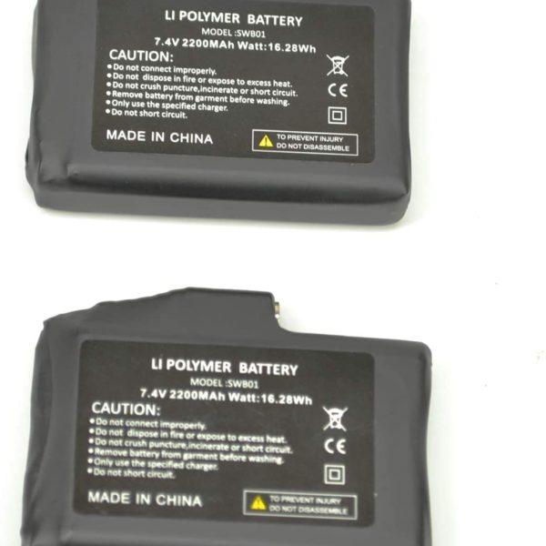 SNOW DEER 7.4V batteries - 8